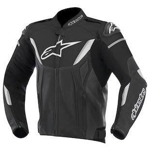 Alpinestars GP-R Leather Jacket (Color: Black/White / Size: 46) 973202