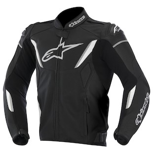 Alpinestars GP-R Perforated Leather Jacket (Color: Black/White / Size: 50) 973228