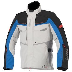 Alpinestars Bogota Drystar Jacket (Color: Grey/Black/Blue / Size: 4XL) 973311