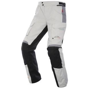 Alpinestars Bogota Drystar Pants - (Sz 3XL Only) (Color: Light Grey/Black / Size: 3XL) 973450