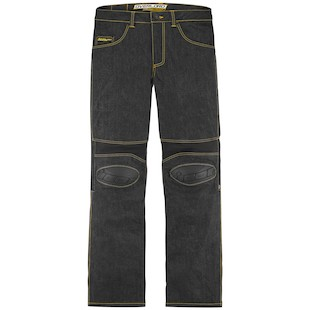 Icon Overlord Riding Jeans (Color: Dark Indigo / Size: 34) 974221