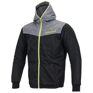 Alpinestars Runner Air Jacket (Color: Grey/Yellow / Size: LG) 973356