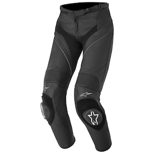 Alpinestars Stella Missile Leather Pants (Color: Black / Size: 46) 973281