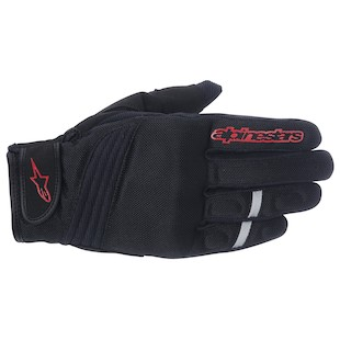 Alpinestars Asama Air Gloves (Color: Black/Red / Size: LG) 973058