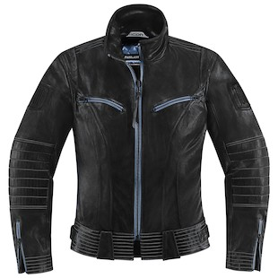 Icon 1000 Fairlady Women's Jacket (Color: Black / Size: LG) 974242