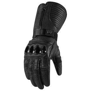 Icon 1000 Fairlady Women's Gloves (Color: Stealth Black / Size: XL) 974267