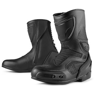 Icon Overlord Boots (Color: Stealth Black / Size: 8.5) 917943