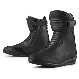 Icon 1000 Eastside WP Women's Boots (Color: Stealth Black / Size: 6) 917977