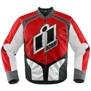 Icon Overlord Textile Jacket (Color: Red / Size: XL) 974541