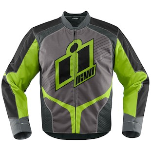 Icon Overlord Textile Jacket (Color: Green / Size: SM) 974533