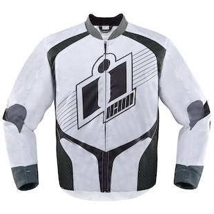 Icon Overlord Textile Jacket (Color: White / Size: MD) 974519