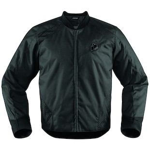 Icon Overlord Stealth Jacket (Color: Stealth Black / Size: MD) 974576