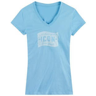 Icon 1000 Statistic Women's T-Shirt (Color: Blue / Size: SM) 974695