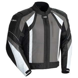 Cortech VRX Jacket (Color: Gunmetal/Black/White / Size: XL) 976078