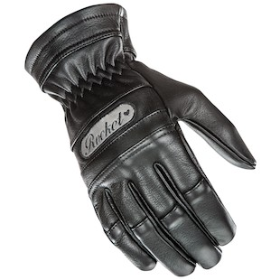 Joe Rocket Classic Women's Gloves (Color: Black / Size: LG) 975915