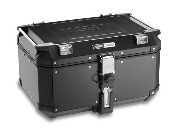 givi trekker outback 42 liter top case cycle gear. Black Bedroom Furniture Sets. Home Design Ideas