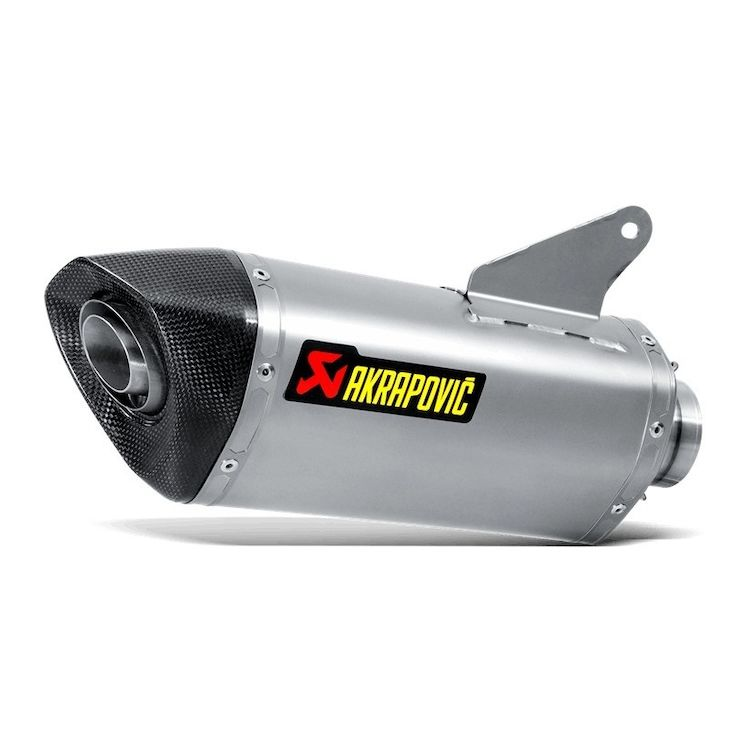 Akrapovic Slip-On Exhaust Ducati Hypermotard / Hyperstrada 2013-2015