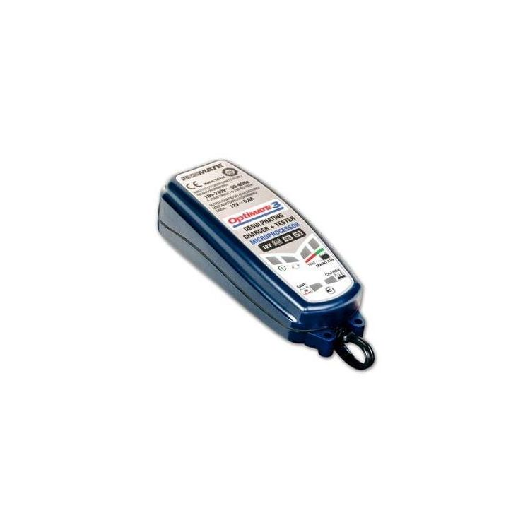 TecMate Optimate 3 Battery Charger