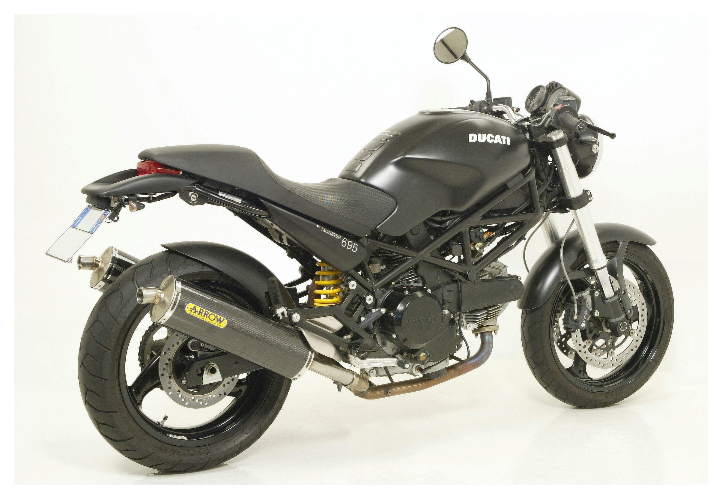 Arrow Race Tech Slip On Exhaust Ducati Monster 600 620 750 800