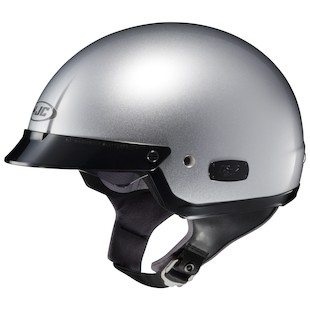 HJC IS-2 LIGHT SILVER XXL HALF HELMET HELMET 128015