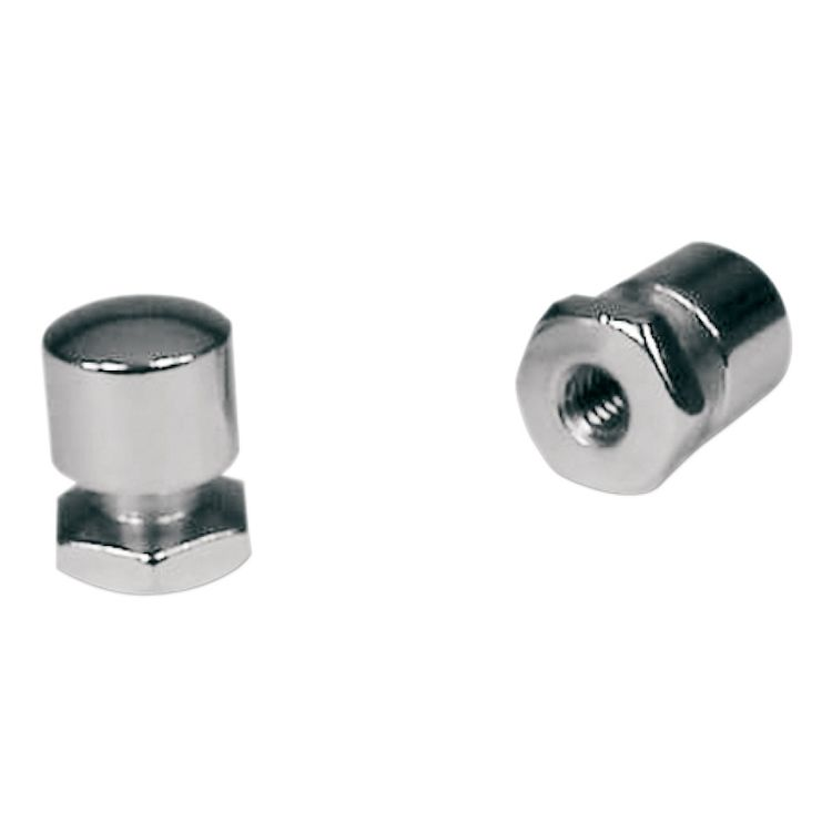 Mustang Solo Seat Mounting Nuts For Harley Touring 1999-2020