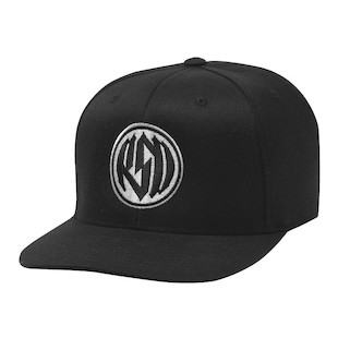 Roland Sands Identity Hat (Color: Black/White / Size: One Size Fits Most) 982362