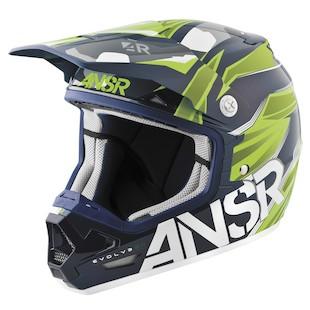 Answer Evolve 2.0 Valor Helmet (Color: Blue/Green / Size: XS) 984145