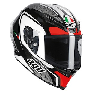 AGV Corsa Circuit Helmet (Color: Black/Red / Size: XS) 980695