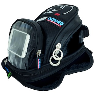 Oxford X2 Magnetic Mini Tankbag (Color: Black) 985963
