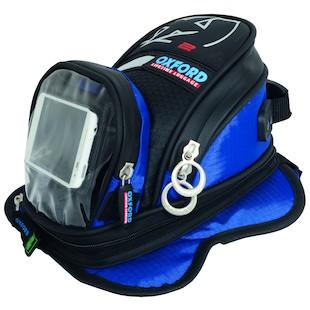 Oxford X2 Magnetic Mini Tankbag (Color: Blue) 985965