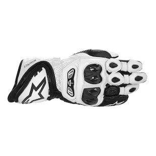 Alpinestars GP Tech Gloves (Color: White/Black / Size: 2XL) 915301