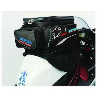 Oxford X40 Magnetic Tank Bag (Color: Black) 985947
