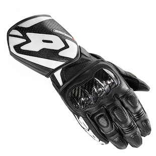Spidi Carbo 1 Leather Gloves (Color: Black / Size: 2XL) 987128
