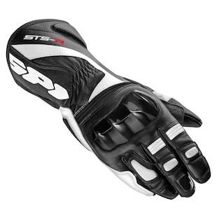 Spidi STS-R Gloves (Color: Black/White / Size: SM) 1098464