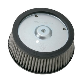 Arlen Ness Stage 1 Big Sucker Replacement Air Filter For Harley Touring 2008-2016 (Material: Synthetic Stainless Filter) 890577