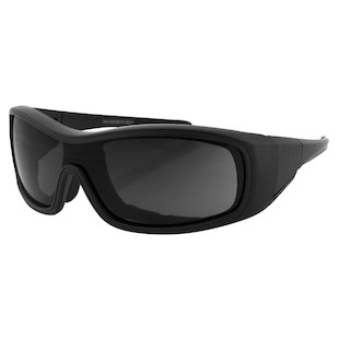 Bobster Zane Convertible Sunglasses (Color: Matte Black / Lens: Smoke) 147030