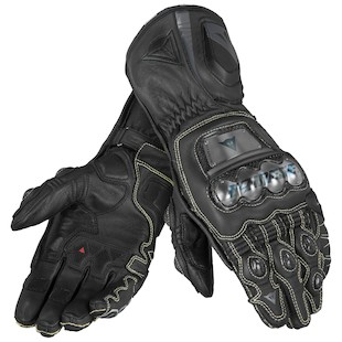 Dainese Full Metal D1 Gloves (Color: Black/Black/Black / Size: XS) 994027