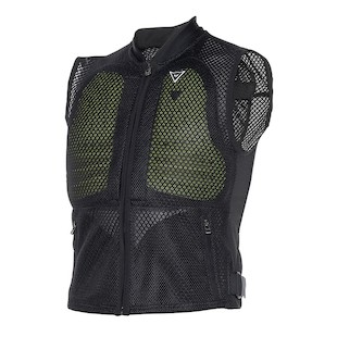 Dainese Body Guard Vest - (Sz XL Only) (Color: Black/Fluo Yellow / Size: XL) 994451