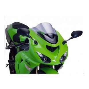 Puig Racing Windscreen Kawasaki ZX10R / ZX6R 2005-2008 (Color: Orange) 1106954