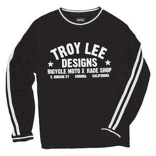 Troy Lee Super Retro Jersey (Color: Black / Size: 2XL) 997488