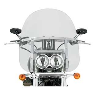 Memphis Shades Memphis Fats Windshield For Harley Fat Bob 2008-2017 (Color: Clear / Size: 19 Tall) 905685