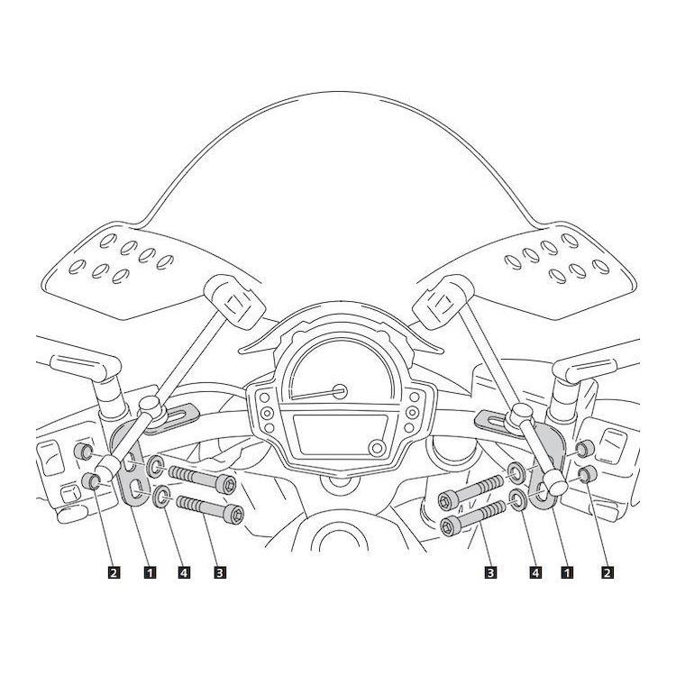 Puig Windscreen Adapter