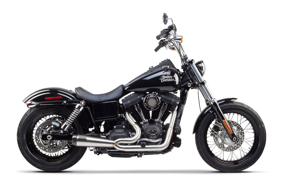 Harley Davidson Dyna On Bike Exif: Two Brothers Comp-S 2-Into-1 Exhaust For Harley Dyna 2006