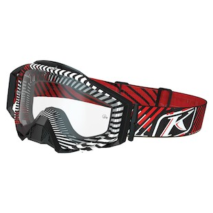 Klim Radius Pro Moto Goggles (Color: Fire Thorn / Lens: Clear) 969675