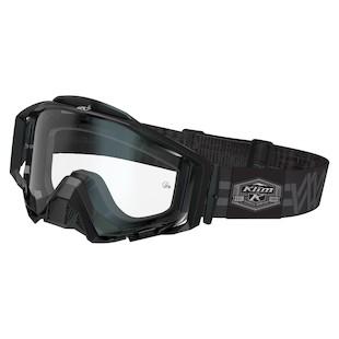 Klim Radius Pro Moto Goggles (Color: Weave / Lens: Clear) 998223