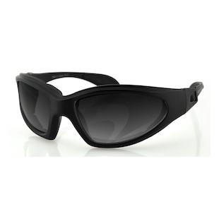 Bobster GXR Convertible Goggles / Sunglasses (Color: Black / Lens: Smoke) 147032