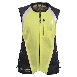 Joe Rocket Military Spec Women's Vest (Color: Yellow / Size: XS-MD) 417328