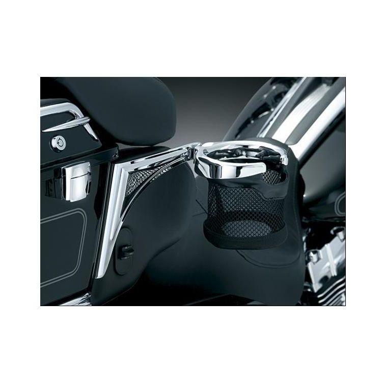 Kuryakyn Passenger Drink Holder For Harley Touring / Trike 2014-2020