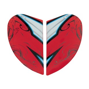 Icon Airmada Sportbike SB1 Side Plate (Color: Red) 847804