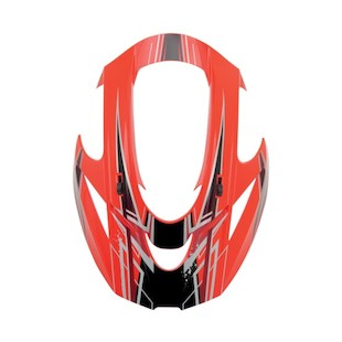Icon Variant Salvo Visor (Color: Red) 754742